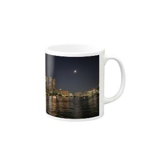 TOKYO MOON(東京夜景) Mugs
