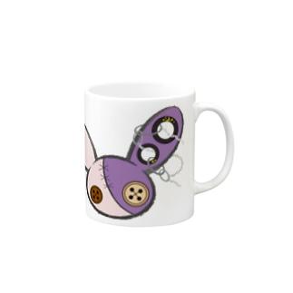 つむぎはぎシリーズ【うさぎ】 Mugs