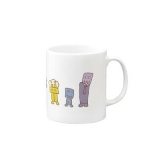 よつつ Mugs