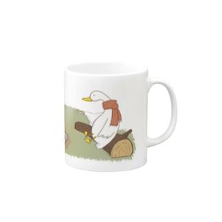 アヒルのキャンプ Mugs