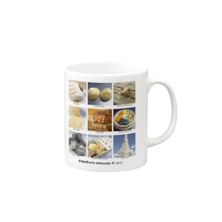 pepakura otousan©2015 Mugs