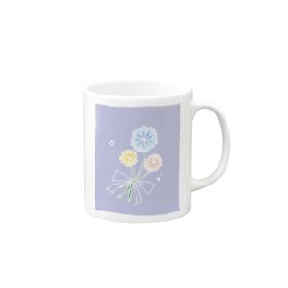 ふんわりお花 Mugs