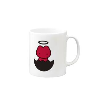 黒いたまごからうまれました Mugs