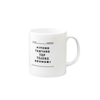 LOVE PEOPLE (Big Bang) Mugs