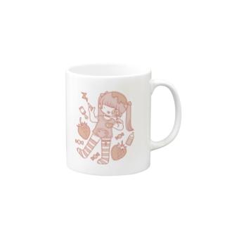 ぺろぺろcandyあっかんべー Mugs
