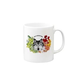 草食系肉食動物ver.オオカミ Mugs
