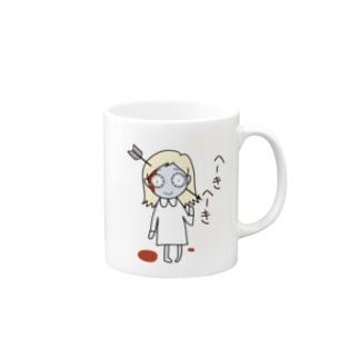 ミミー the へーきへーき Mugs