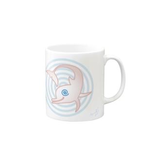 ぐるぐるイルカ〜♪ Mugs