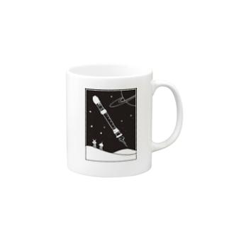 リコーダー星人 Mug
