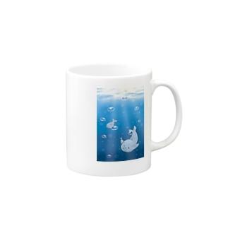 エセ関西弁ゴマフさん(遊泳) Mugs