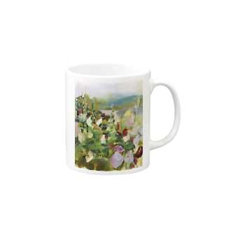 「the house, a rose of Sharon」 Mugs