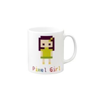 PixelGirl Mugs