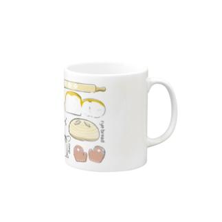 コーギーパン(横長) Mugs
