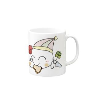 四つ葉の妖精くぅ~ちゃんNo.2(大) Mugs