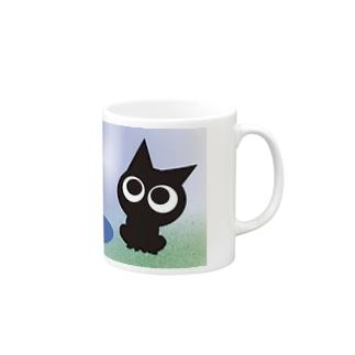 〜ネコト白イノトボク〜 マグカップ