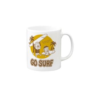 サーフモンモンA マグカップ