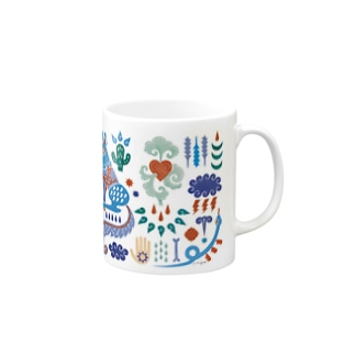 COYOTE 【BLUE】 Mugs