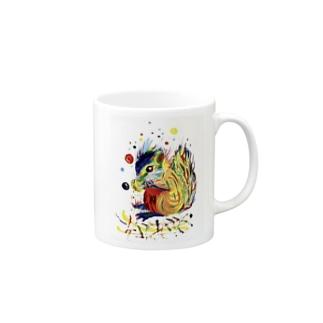 リス Mugs