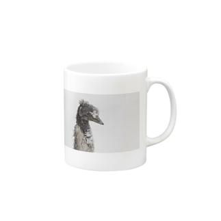 雪景色シリーズ1 Mugs