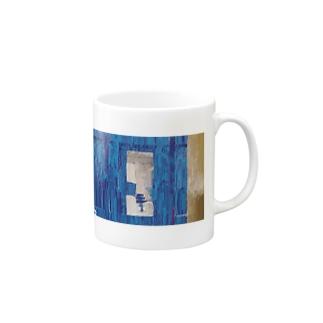 魅惑の青色 Mugs
