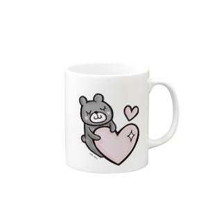 【再販】ほっこりクマさん Mugs