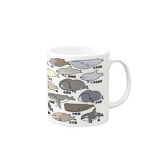 ゆるホエール(和名・漢字) Mugs