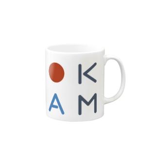 """""""OKAM"""" ロゴマグカップ Mugs"""