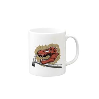ティラノサウルス【発掘ver】 Mugs