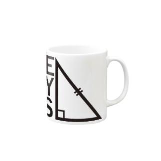 THE VERY BIGSオフィシャルグッズ【黒】 Mugs
