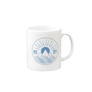 KUMANO BLUE Mugs