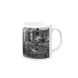 film photo-休憩- Mugs
