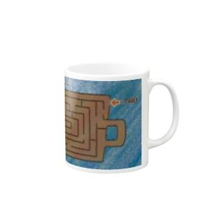 coffee maze コーヒー迷路 Mugs