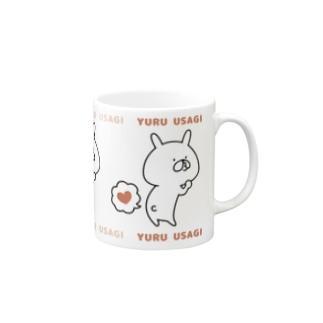ゆるうさぎ ぷぅ2 マグカップ