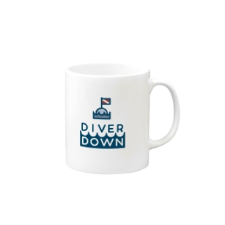 Diver Downグッズ Mugs