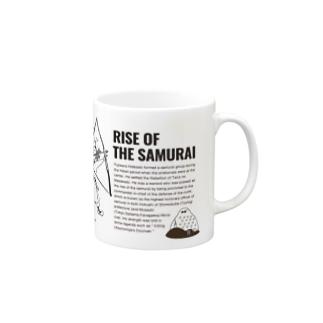 RISE OF THE SAMURAI/英文入り Mugs