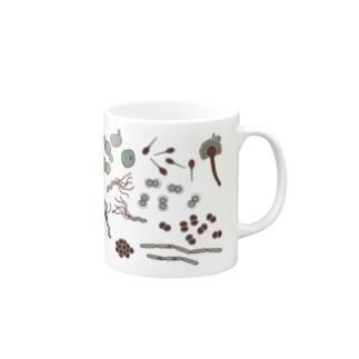 微生物いっぱいマグカップ Mugs