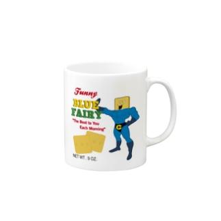 CRACKER!! Mugs