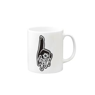 BRASH ロゴ入り Mugs