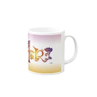 アート文字【和】 Mugs
