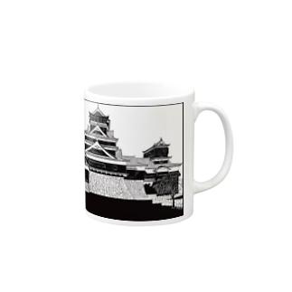 熊本城 Mugs