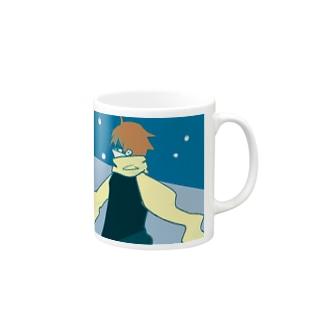 マフラーくん Mugs