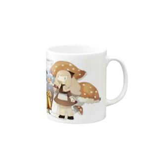 ふしぎのきのこ Mug
