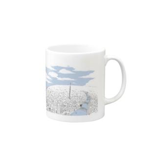 NEO TOKYO(bluesky) Mugs