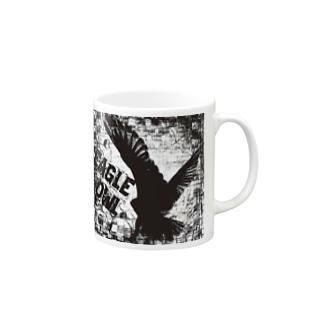 Gothic Eagle Owl Mugs