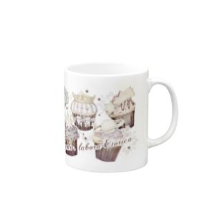 夜空のフェアリーケーキ Mugs