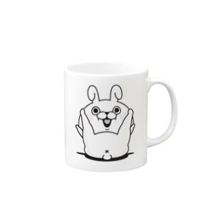 うさぎ100% X Mugs