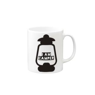 I AM CAMPER Mugs