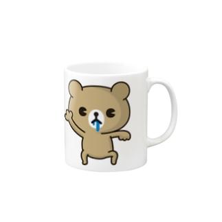 ドMくまちゃん(ヨダレバージョン) Mugs
