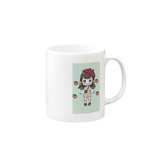 青リンゴちゃん(みかんが好き!) Mug