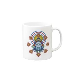 聖観音(閻魔大王) Mugs